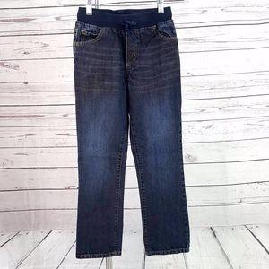 Gymboree blue pull on elastic waist jeans/Size 8